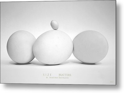 Metal Print featuring the photograph Size Matters by Martina  Rathgens