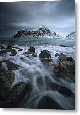 Skagsanden Beach Metal Print by Tor-Ivar Naess