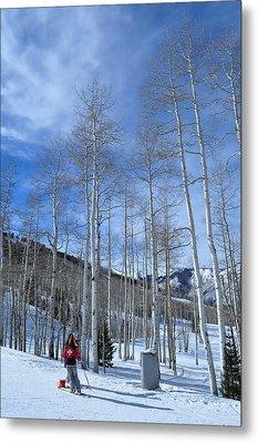 Ski Patrol Metal Print