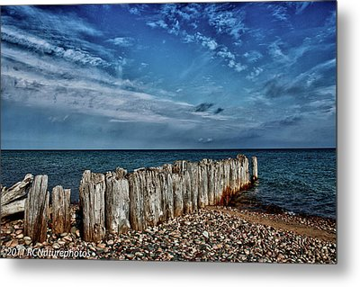 Metal Print featuring the photograph Skies Of Superior by Rachel Cohen