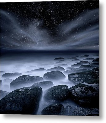 Metal Print featuring the photograph Sky Spirits by Jorge Maia