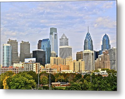 Skyline Metal Print by Brynn Ditsche