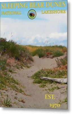 Sleeping Bear Dunes National Lakeshore Poster Metal Print by Dan Sproul