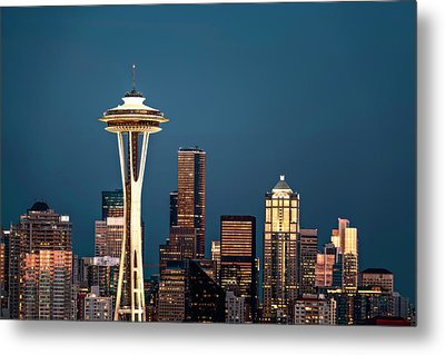 Metal Print featuring the photograph Sleepless In Seattle by Eduard Moldoveanu