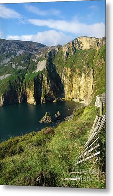 Metal Print featuring the photograph Slieve League Cliffs Eastern End by RicardMN Photography