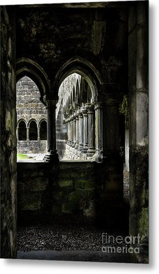 Metal Print featuring the photograph Sligo Abbey Interior by RicardMN Photography