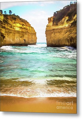 Metal Print featuring the photograph Small Bay by Perry Webster