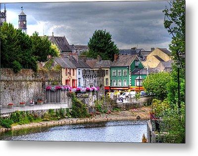 Small Town Ireland Metal Print