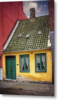 Smallest House In Malmo Sweden Metal Print