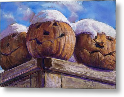 Smilin Jacks Metal Print by Billie Colson