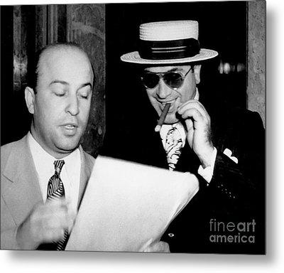 Smiling Al Capone Metal Print