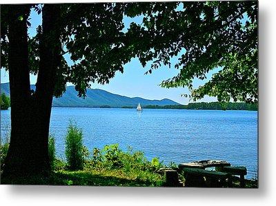 Smith Mountain Lake Sailor Metal Print