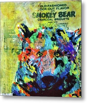 Smokey Bear Metal Print