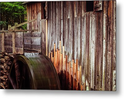 Smokies Mill Metal Print by Andrew Soundarajan