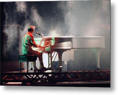 Smokin' Elton Metal Print by Scott Smith