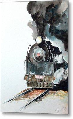 Smokin Metal Print by Greg Clibon