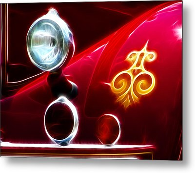 Smoking Hot Metal Print