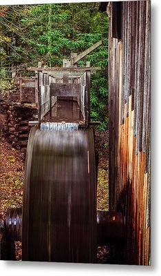 Smoky Mountain Mill Metal Print by Andrew Soundarajan