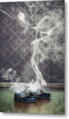 Smoky Shoes Metal Print by Joana Kruse