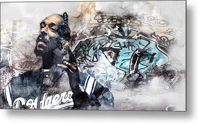 Snoopp Graffiti 8 Metal Print by Jani Heinonen
