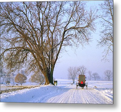 Snow Buggy Metal Print
