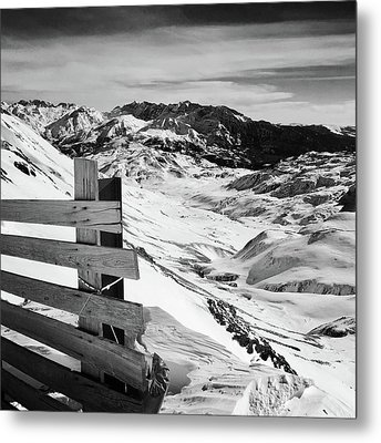 Snow Metal Print by Contemporary Art