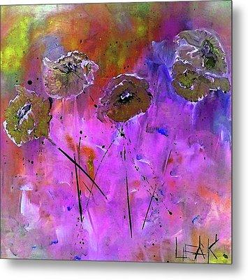 Snow Flowers Metal Print by Lisa Kaiser