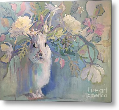 Snowshoe Metal Print by Kimberly Santini