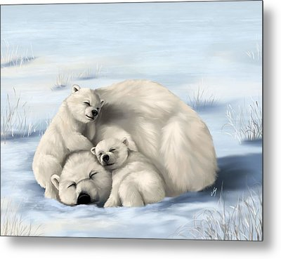 Metal Print featuring the painting So Much Love by Veronica Minozzi