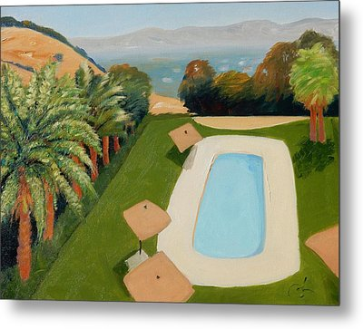 Metal Print featuring the painting So Very California by Gary Coleman