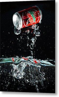 Soda Metal Print