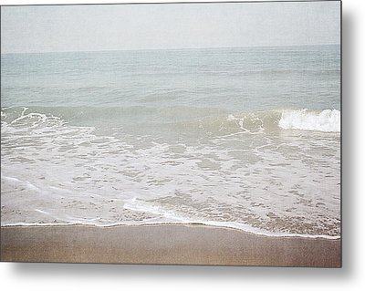 Soft Waves- Art By Linda Woods Metal Print