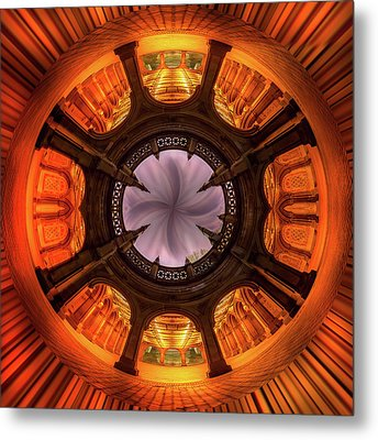 Metal Print featuring the photograph Solar Worship by Az Jackson