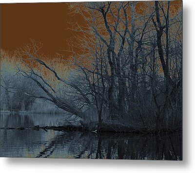 Solarization Metal Print