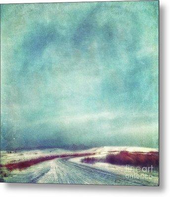 Solitary Journey Metal Print