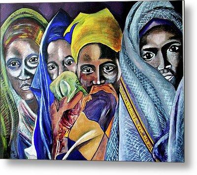 Somali Women Metal Print by Miriam Kalb