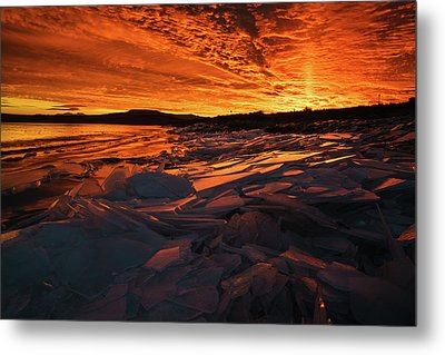 Song Of Ice And Fire Metal Print by Justin Johnson