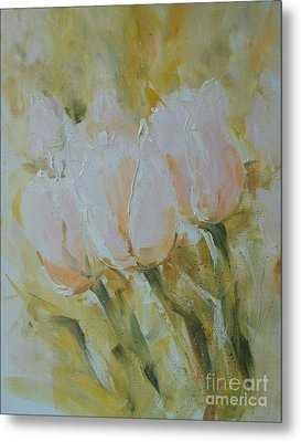 Sonnet To Tulips Metal Print