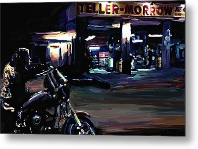 Sons Of Anarchy Jax Teller Signed Prints Available At Laartwork.com Coupon Code Kodak Metal Print by Leon Jimenez