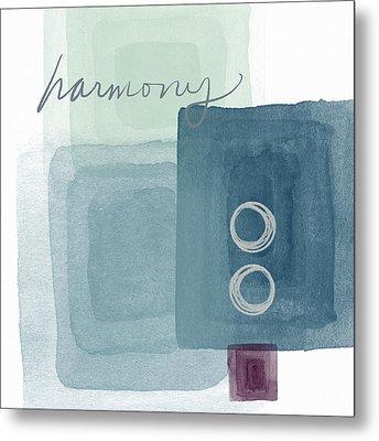 Soothing Harmony- Art By Linda Woods Metal Print