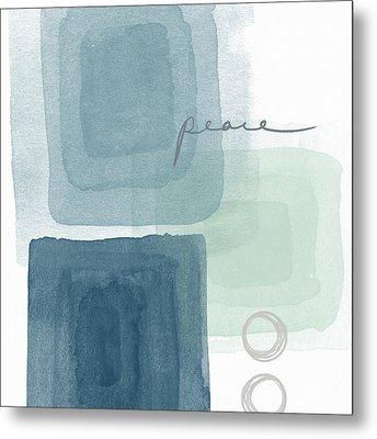 Soothing Peace- Art By Linda Woods Metal Print