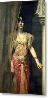 Soudja Sari Metal Print by Gaston Casimir Saint Pierre