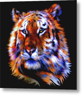 Soulful Tiger Metal Print