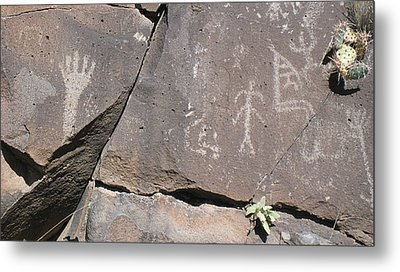South Fork Petroglyphs Metal Print
