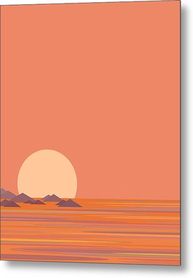 South Sea Islands Metal Print by Val Arie