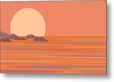 South Seas Metal Print by Val Arie