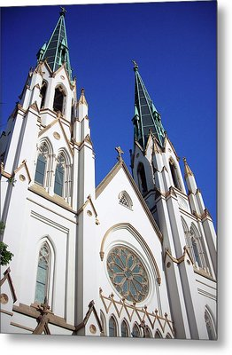Metal Print featuring the photograph Southern Church by Michael McKenzie