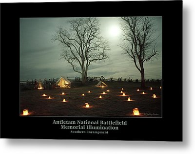 Southern Encampment 90 Metal Print by Judi Quelland