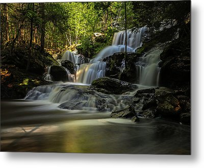Metal Print featuring the photograph Southern New Hampshire Garwin Falls by Juergen Roth