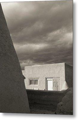 Metal Print featuring the photograph Southwestern Skies by Heidi Hermes